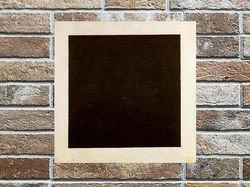 Kazimir Malevich,Quadrado Preto,Quadro,Poster,Gravura,abstrato,Canvas,preto e branco,