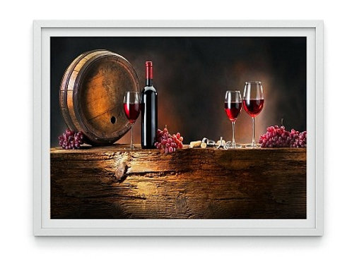 quadro decorativo, cozinha, adega, varanda, gourmet, Vinho, Barril, Garrafa,comprar quadros, quadros baratos, sala de jantar