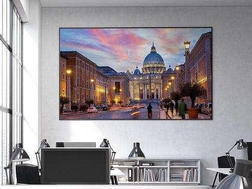 poster,gravura,canvas,quadro decorativo,fotografia,Cidades,Hotel della Conciliazione,comprar quadros,quadros baratos,sala