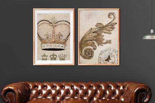 conjunto de quadros,dourado, poster dourado, gravura dourada, dourado, decorativo,quadro, poster, gravura, reprodução, canvas