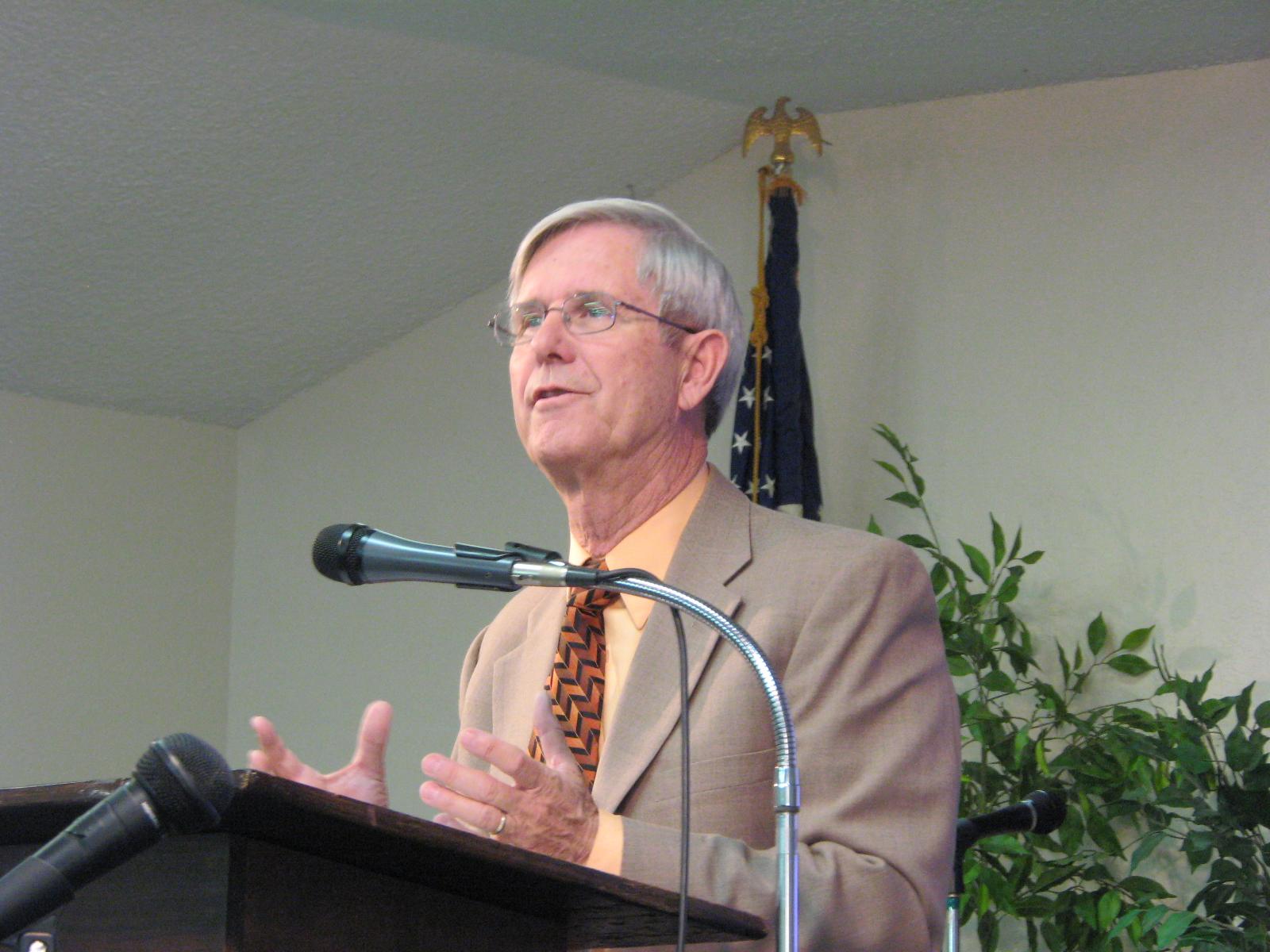 Pastor Bill Pierpoint
