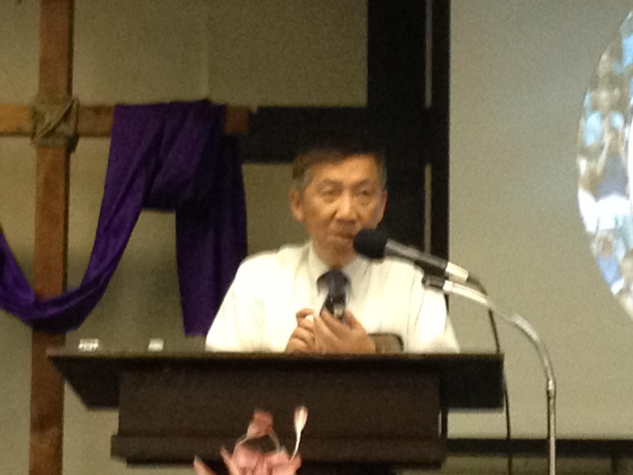 Pastor John Lee