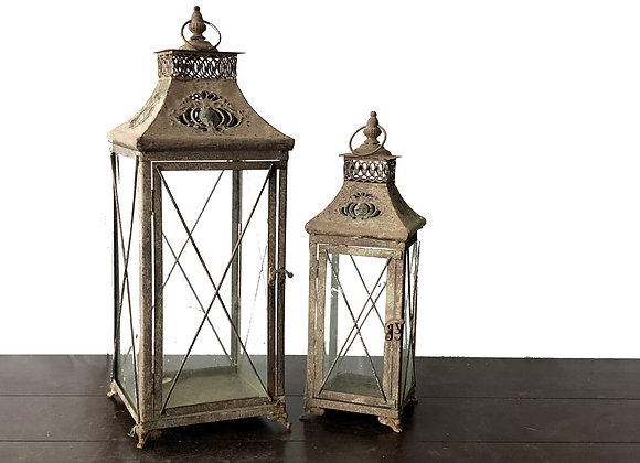 Lanterns, Rustic Brown, Large Only