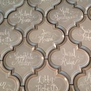 Gray Arabesque tiles