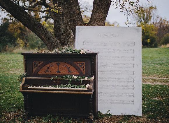 Ornate Piano, Decor Prop