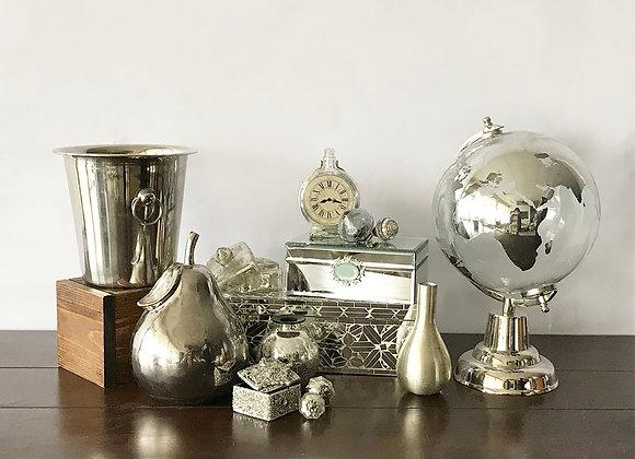 Unique Silver Decor