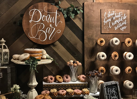 """Donut Pegboard """"I donut know what I would do without you"""""""
