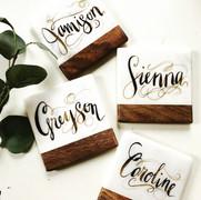 Wood/Marble Coasters