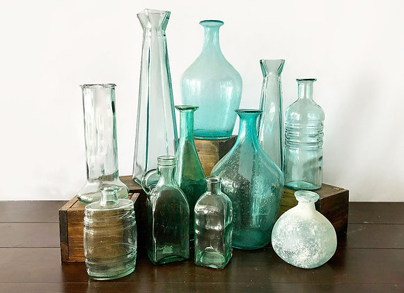 Teal Glass Collection