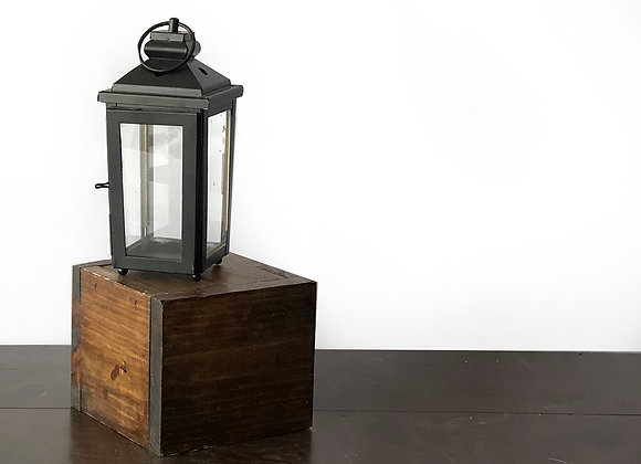 Lantern, Black Small
