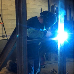 MIG welding 5x10 I-beams with pulsed MIG.jpg