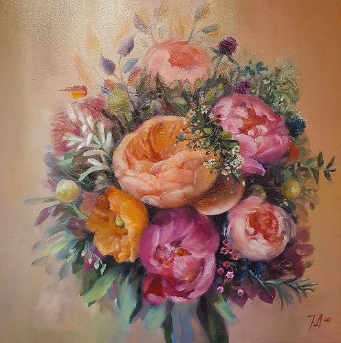 ''Colourful Fragrance'' Print