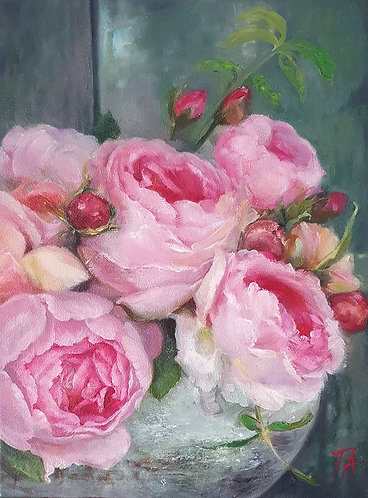 'Pink Fragrance' Print
