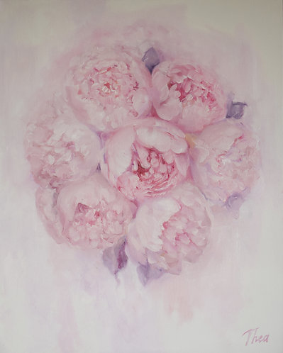 Shabby Chic Dreamy Pink Peonies