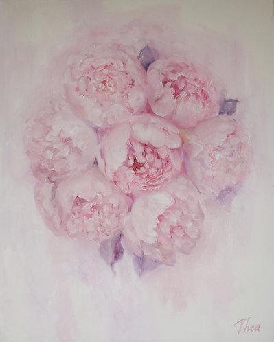 ''Pink Peonies'' Print