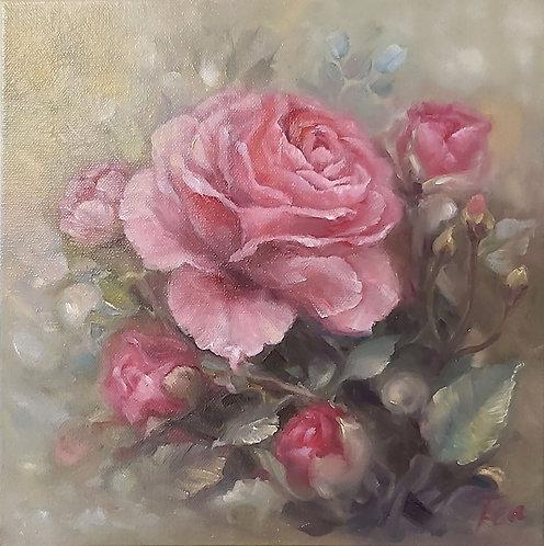''Bulgarian Rose'' Print