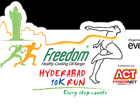 upBeat® on its first 10K run: Continuous monitoring during Hyderabad's 10K run on Nov 25, 2018