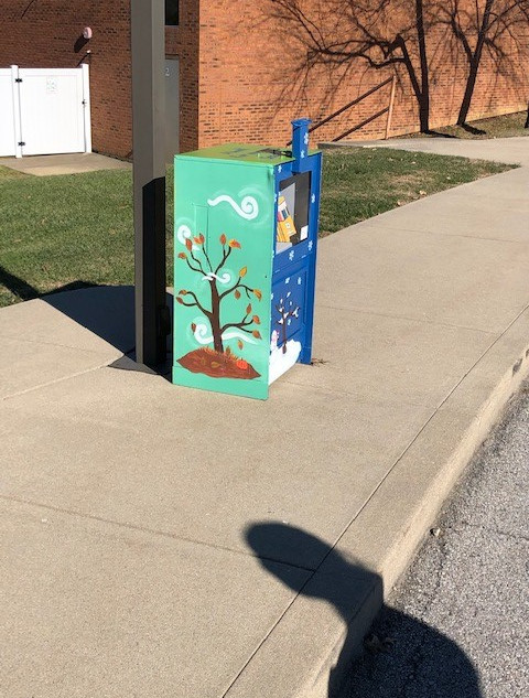 Placement of the LIttle Free LIbrary Sea