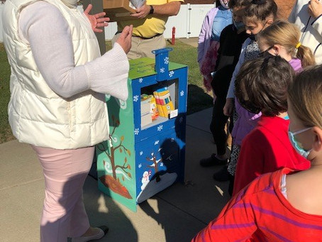 11/30 Little Free Libraries and News Racks