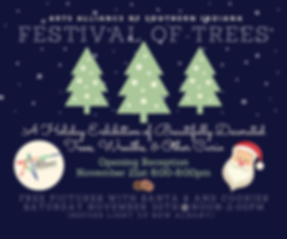Festival of Trees Poster