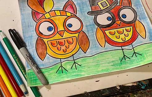 Thanksgiving Owls!