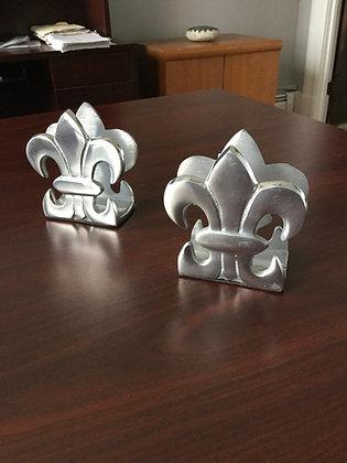 Fleur-de-lis napkin holders