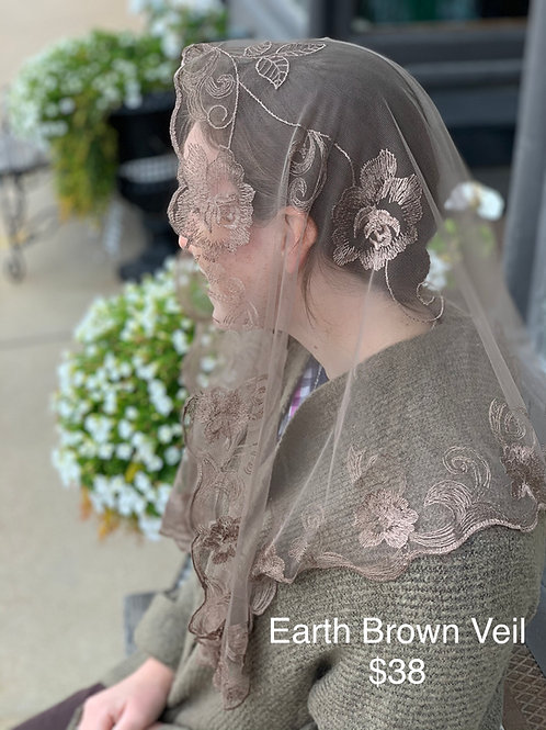 Earth Brown Veil