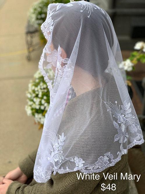Mary - White Veil