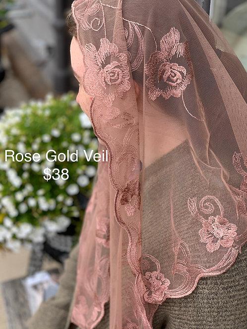 Rose Gold Veil