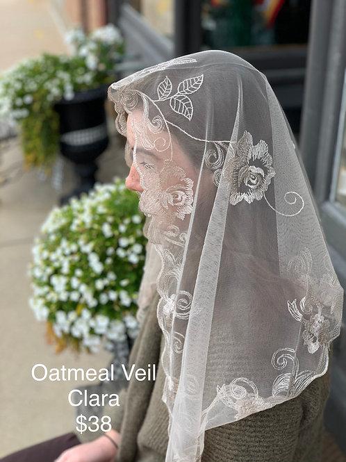 Clara - Oatmeal Veil