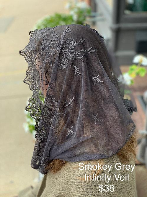 Smokey Grey Infinity Veil