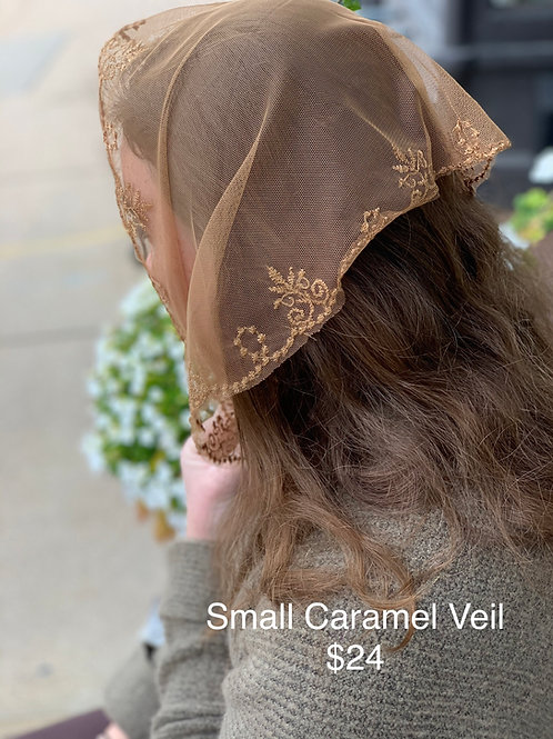 Small Caramel Veil
