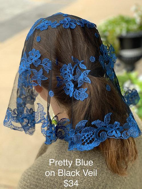 Blue on Black Veil