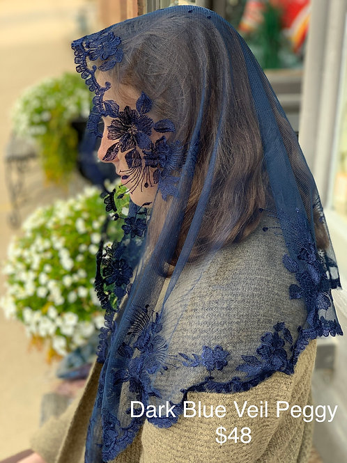 Peggy - Dark Blue Veil
