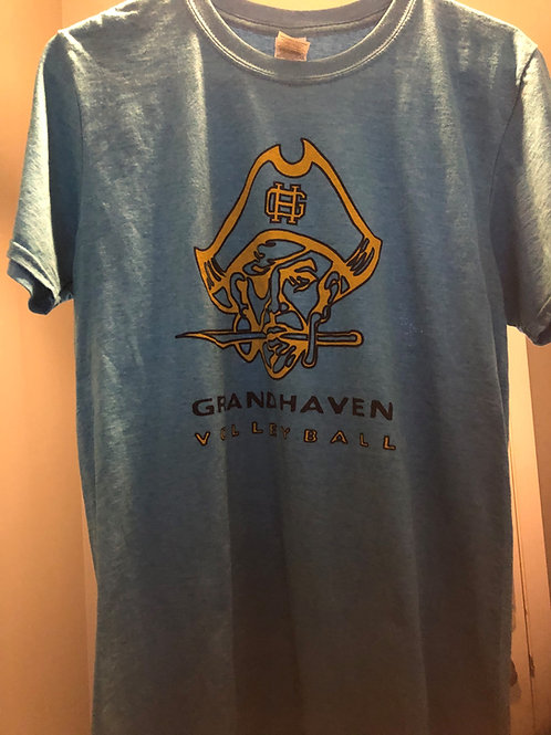 Grand Haven Volleyball Turquoise T-shirt