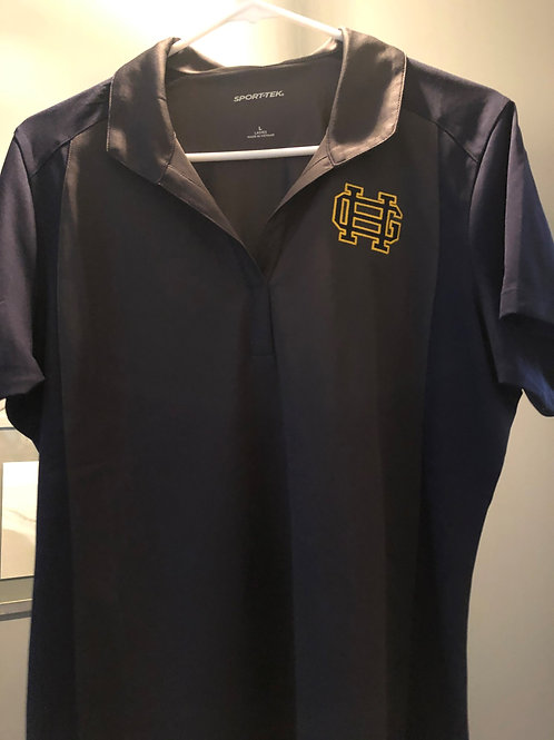 GH Ladies Navy& Grey Polo- size Large