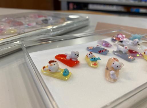 ミックスメディアアートを学べる/ 札幌ネイルスクール