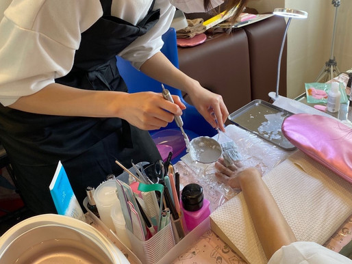 サロンワークレッスンが学べる / 札幌ネイルスクール