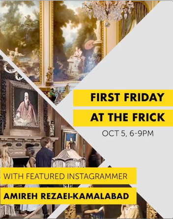 Featured Instagrammer at the Frick Collection