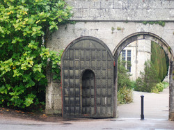 Lanhydrock House side-gate - Chris