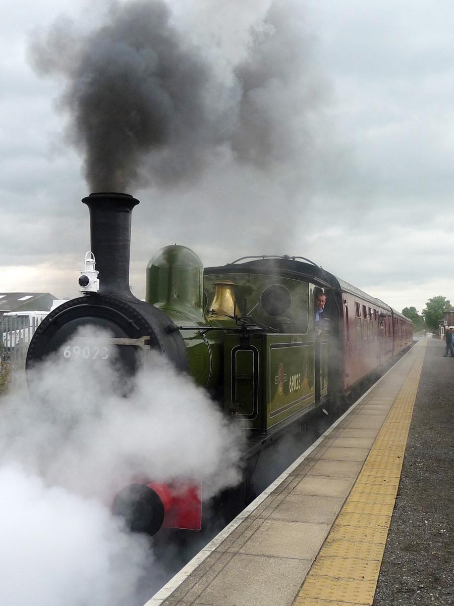 Full steam ahead by Ann Glinn.