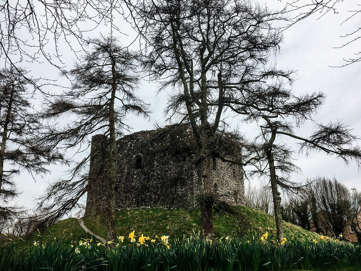 Lydford Castle - Claire