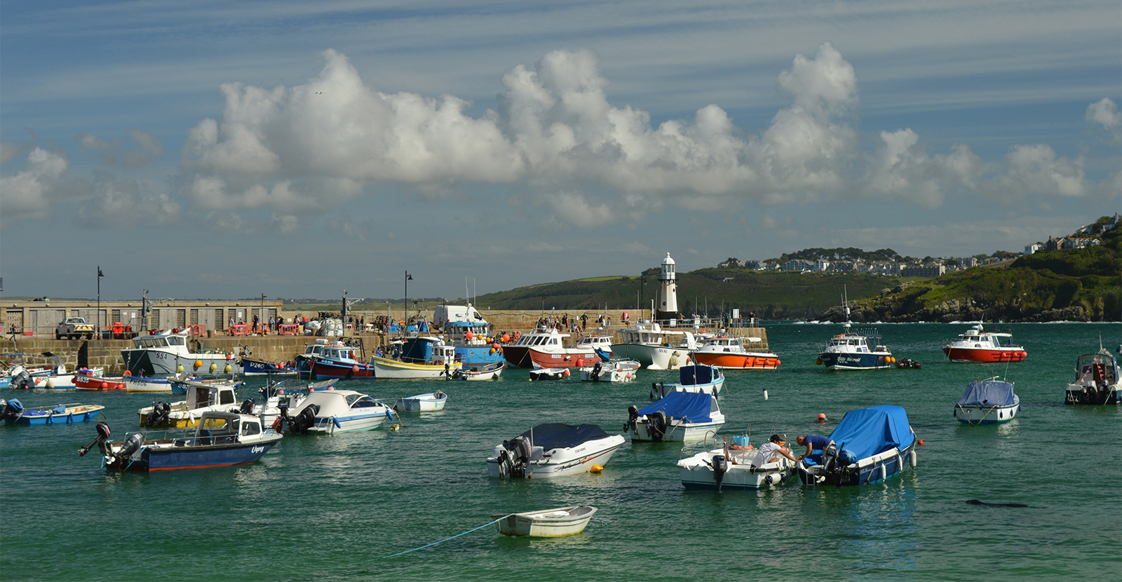 St Ives Harbour - Mandy
