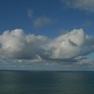 A Cornish Seascape - North Coast Clouds