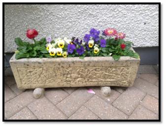 Flower trough