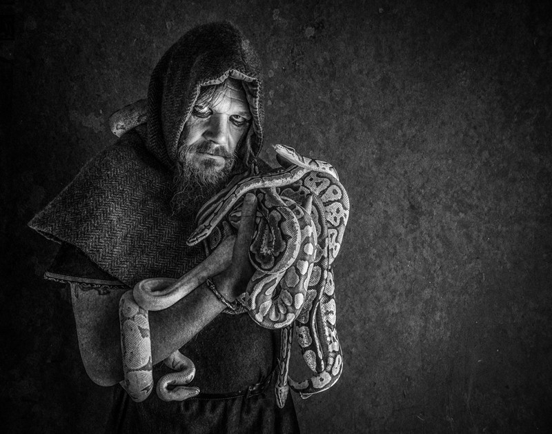 """""""Keeper Of The Snakes"""" – Helen Davis CPA Alliance Cup – Best Image"""