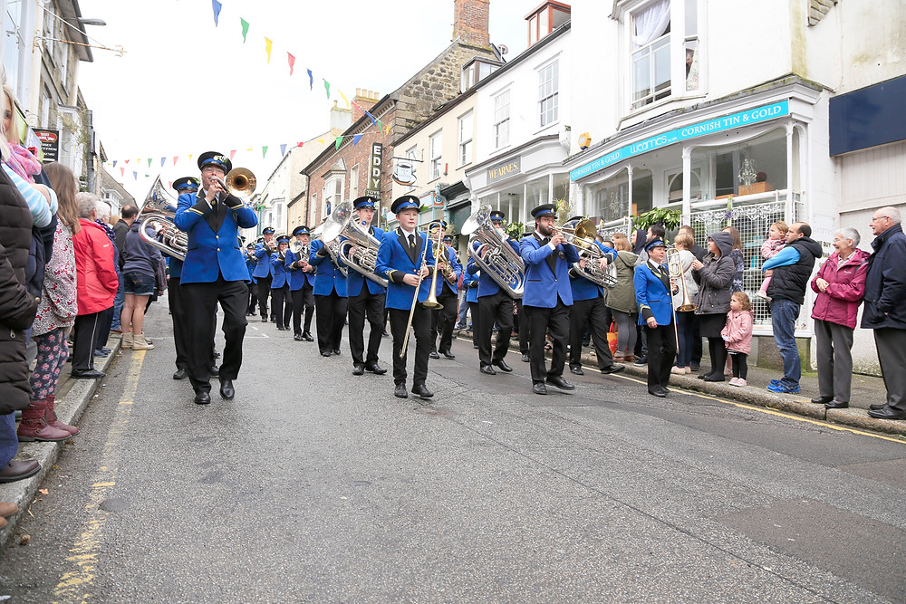 Helston Flora Day Band