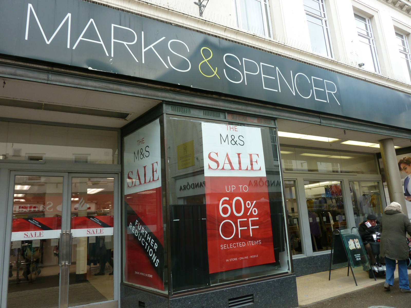 Falmouth`s Marks & Spencers - Julia