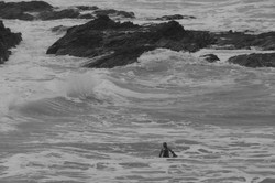 Man against the sea - Claire D