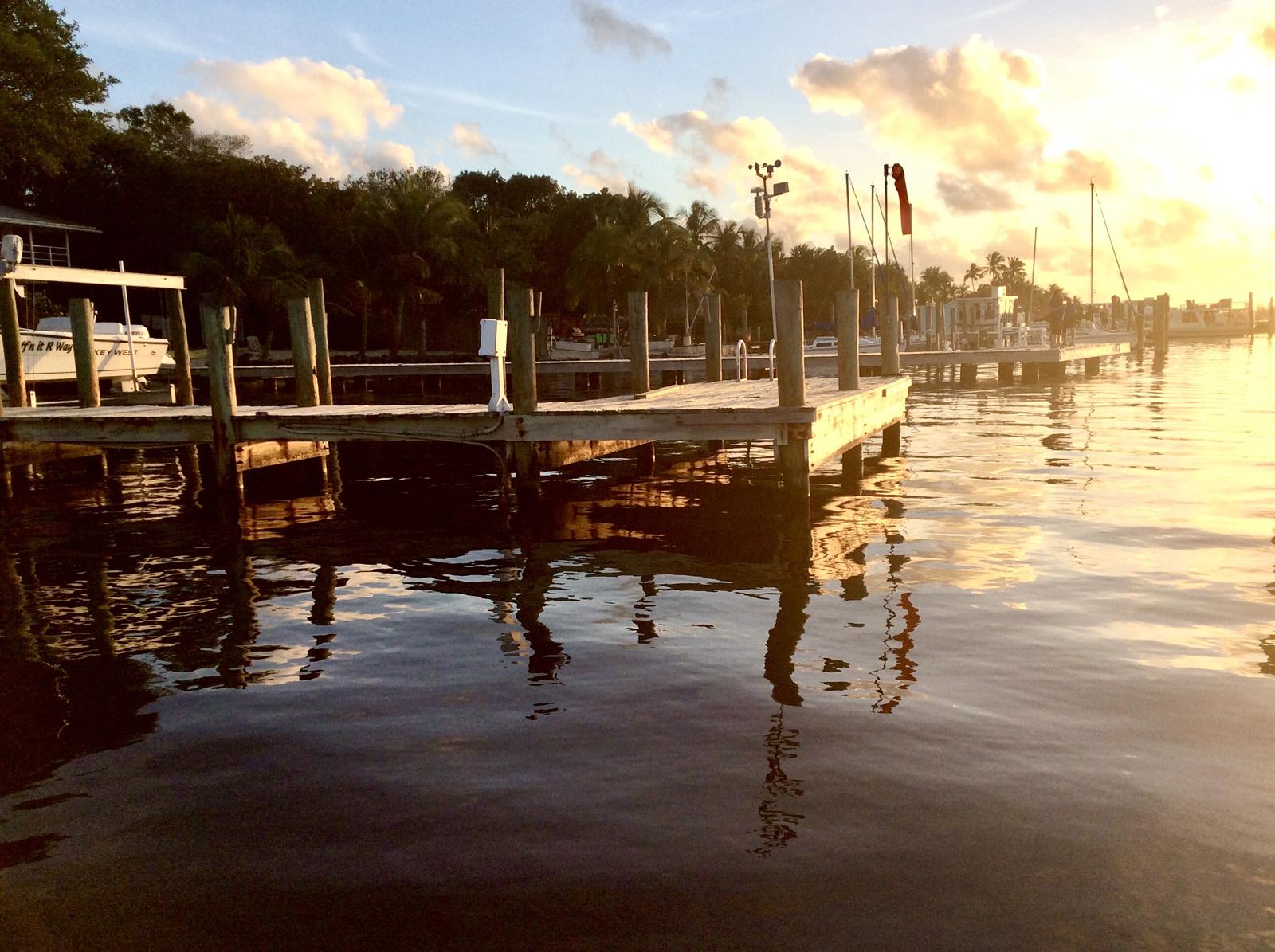 Key Largo sunset -Jan